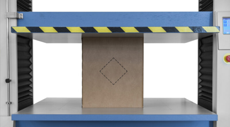 Box Compression Tester - Compressiebank - Dozentester